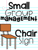 Small Group Instruction Management