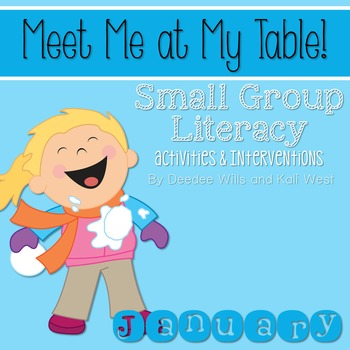 Small Group January~ Meet Me At My Table
