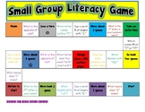 SMALL GROUP LITERACY BOARD GAME!