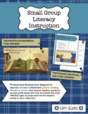 Small Group Literacy: Guided Reading, Shared Reading, and