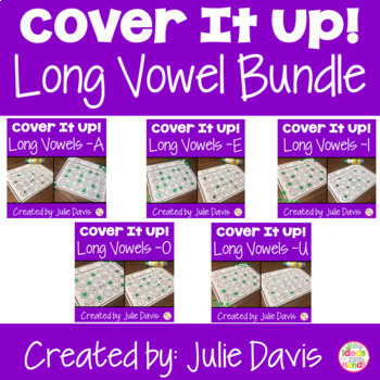 Small Group Long Vowel BUNDLE Worksheets and Activities