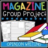 Opinion Writing Unit - Writing Reviews (Small Group Magazine Project)