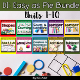 Small Group Math DI Easy as Pie, MEGABUNDLE  by K. Adsit & M. Scannell