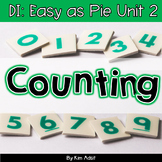 Small Group Math DI Easy as Pie, Unit 2 Counting by K. Adsit and M. Scannell