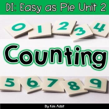 Small Group Math DI Easy as Pie, Unit 2 Counting by K. Ads