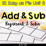Small Group Math DI Easy as Pie, Unit 6 Add and Subtract by K. Adsit M. Scannell