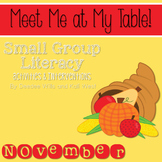 Small Group November ~ Meet Me At My Table