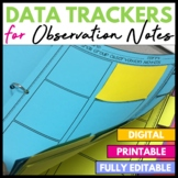 Small Group Observation Notes Tracker
