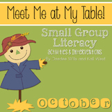 Small Group October ~ Meet Me At My Table