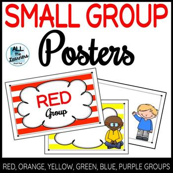 Small Group Organization & Recording Pages