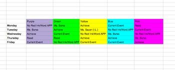 Small Group Organizer *Editable*