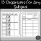 Small Group Organizers and Data Tracking