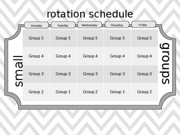 Small Group Lesson Planning