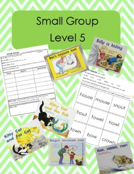Small Group Plans Level 5 Using Rigby Books