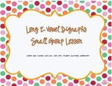 Small Group Plans: Long E Patterns