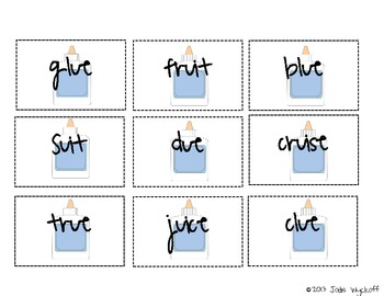 Small Group Plans: Long U Vowel Digraph Patterns