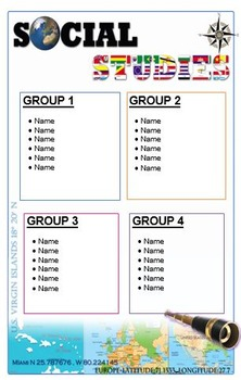 Small Group Posters (A4 Paper)