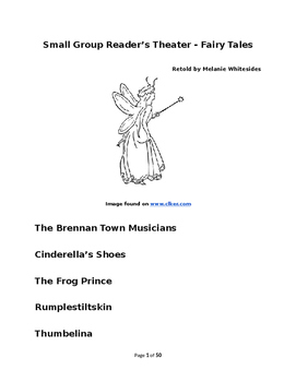 Fairy Tales for Small Group Reader's Theater - Book One