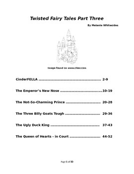 Twisted Fairy Tales for Small Group Reader's Theater - Three!