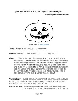 Small Group Reader's Theater for Halloween - Book 2!