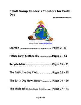 Small Group Reader's Theaters for Earth Day