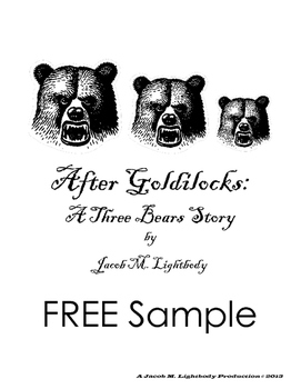Small Group Readers Theater: The Three Bears (FREE Sample)