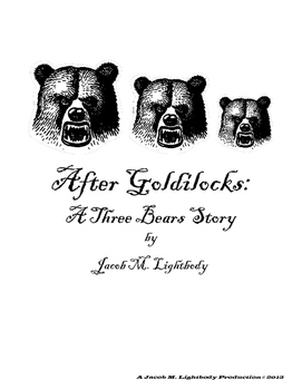 Small Group Readers Theater: The Three Bears (Script + Activities)