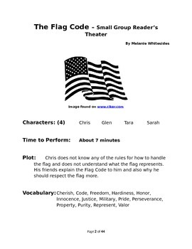 Small Group Reader's Theaters for Patriotic Occasions