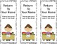 Small Group Reading Bookmarks - EDITABLE!!
