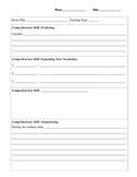 Small Group Reading Comprehension Page