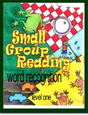 Small Group Reading Intervention, Color the Sounds, Level 1 Booklets 1 - 5