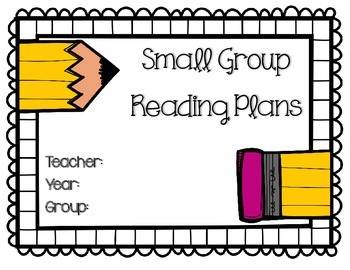 Small Group Reading Lesson Plan Template