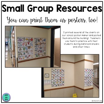 Small Group Resources (alphabet, blends, colors, numbers, bilingual!)