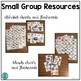 Small Group Resources (alphabet, blends, colors, numbers,