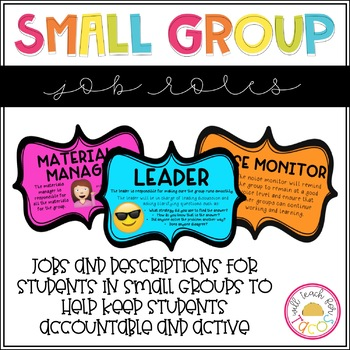 Small Group Roles Jobs