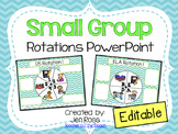 Small Group Rotation Powerpoint
