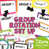 Small Group Rotation Set Up
