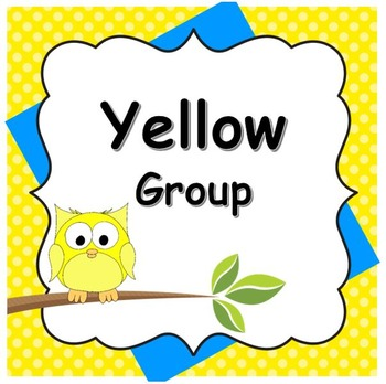 Small Group Rotation Visual Organizers