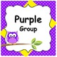 Small Group Rotation Visual Organizers