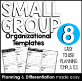 Small Group Rotations // Guided Reading Templates [Plannin