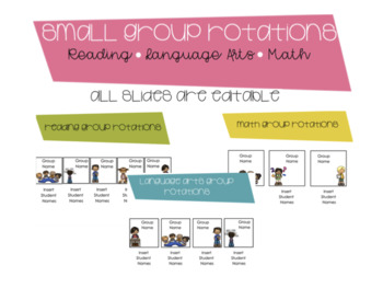 Small Group Rotations Smart Notebook