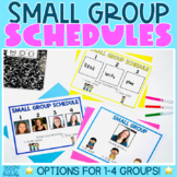 Small Group Schedule Boards
