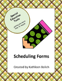 Small Group Scheduling Forms
