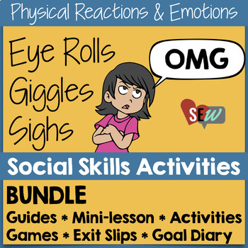 Emotions & Reactions: Social Skills Activities for Emotional Awareness