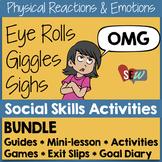 Feelings & Reactions Bundle: Social Skills Activities #sweetcounselor