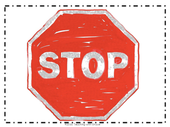 Small Group Stop Sign Freebie