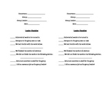 Small Group Student Leader Checklist