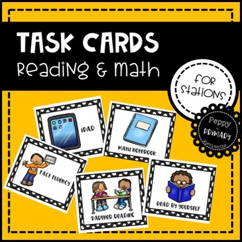 Small Group Task Cards