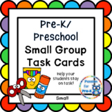 Small Group Instruction Cards - Small