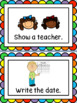 Small Group Task/Instruction Cards - Large